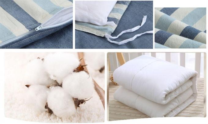 Cuddle Bed Reducer Baby Crib Bedding Sets Durable Design 100% Cotton