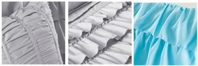 Non Woven Fabric White Down Alternative Comforter Set 100% Polyester Size Optional
