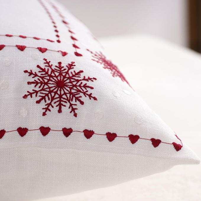 Unique Polyester Embroidered Personalised Christmas Cushions For Couch
