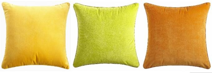 Multiple Colors Elegant Couch Pillow Covers Soft Comfortable For Bed / Car