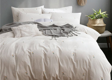 China Real Simple Washed Twin Size Bedding Sets Soft 4 Pcs 100% Cotton Sample Available supplier