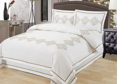 China Elegant Embroidered Modern Duvet Covers And Shams 4Pcs Twin Bed Duvet Covers supplier
