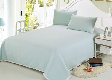 China Multiple Colors Luxury Bed Sets , 3 Pcs Lightweight Fabric Softest Cotton Sheets supplier