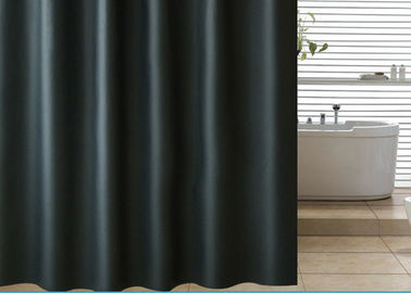 China Black Shading Bathroom Shower Curtains 100% PEVA Waterproof Thickening supplier