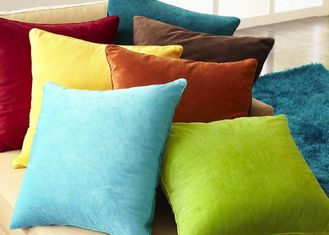 China Multiple Colors Elegant Couch Pillow Covers Soft Comfortable For Bed / Car supplier