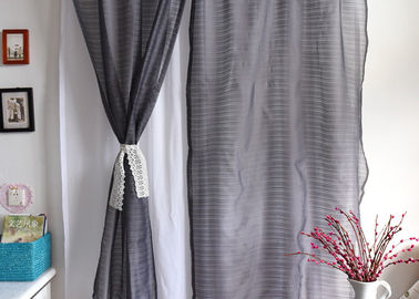 China Elegant Multiple Colors Modern Window Curtains Lightweight Fabric For Living Room supplier