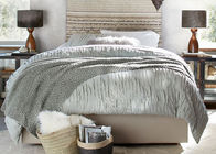 China Camille Ruched Solid Modern Bedding Sets Soft 4 Pcs With Different Size factory