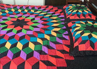 China Unique Tetris  Patchwork Bedding Sets , Handmade Hotel Style Bedding Sets company