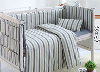 China Cuddle Bed Reducer Baby Crib Bedding Sets Durable Design 100% Cotton factory