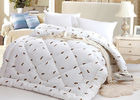 China Warm Alternative Down Comforter , Machine Quilting Feather Down Comforter factory