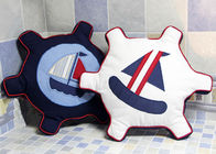 China Patchwork Personalized Fashion Gifts Cotton Navy / White Embroidered Patchwork Rudder company