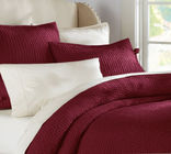 Comfortable Linen Cotton Quilt Sets , Home 3 Pcs Queen Size Quilt Sets
